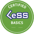 Certified LeSS Basics Logo small